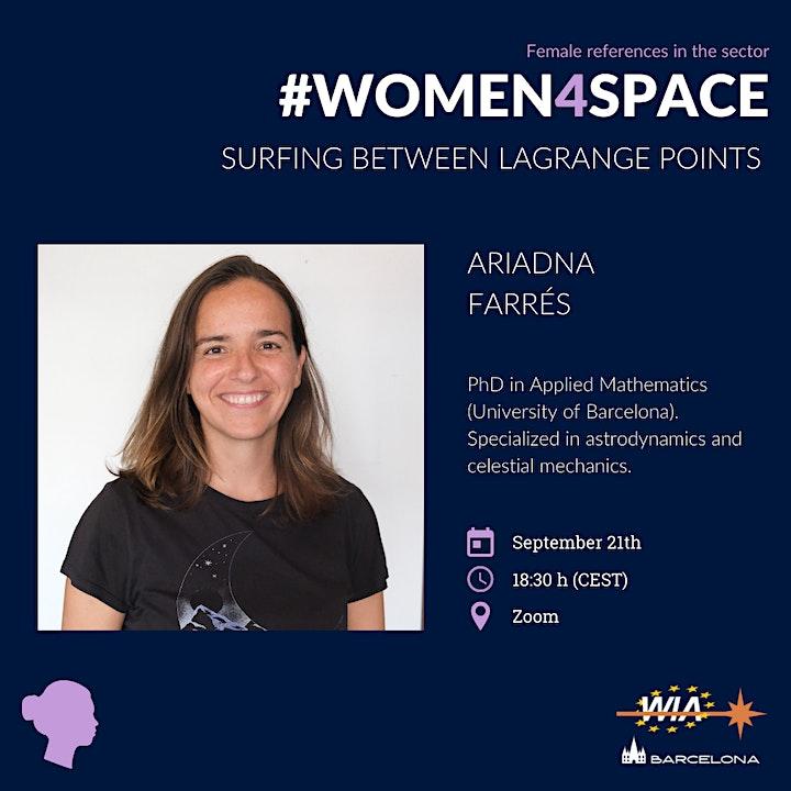 WIA-E Barcelona - #Women4Space Conference with Ariadna Farrés image