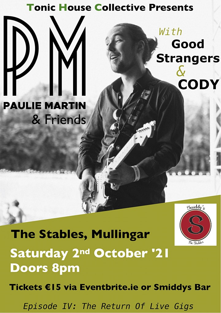 Paulie Martin & Friends image