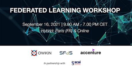 Federated Learning Workshop tickets