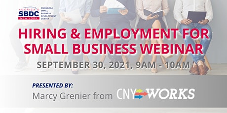 Hiring & Employment for Small Business tickets