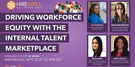 Driving Workforce Equity with the Internal Talent Marketplace tickets