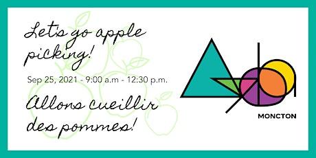 Ayoba Moncton - Apple Picking / Cueillette de Pommes! tickets