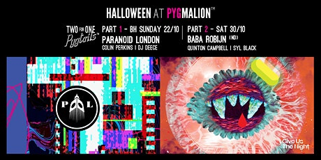 Pyg's Halloween party - Saturday October 30th tickets