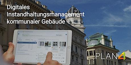 Webinar Digitales Instandhaltungsmanagement kommunaler Gebäude Tickets