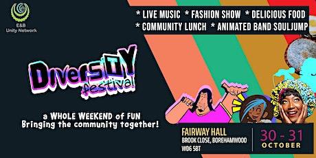 Diversity Festival Borehamwood 2021 tickets