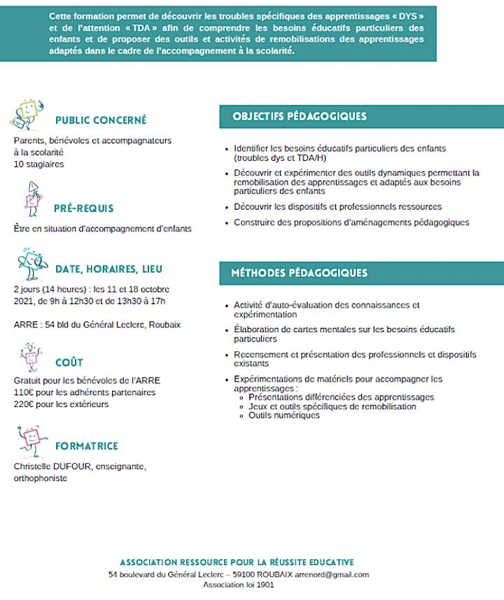 Image pour FORMATION Comprendre et s'adapter aux besoins des enfants DYS et/ou TDA