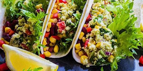 Vegetarian Course: Burgers and Tacos (Webinar) tickets