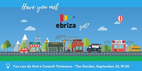 Have you met Ebriza yet? tickets