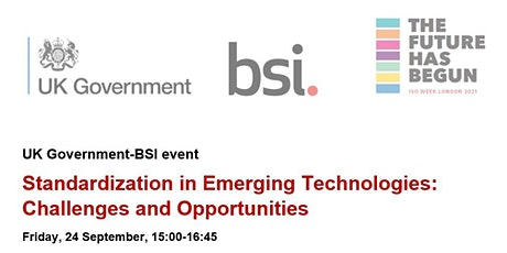 Standardization in Emerging Technologies: Challenges and Opportunities tickets