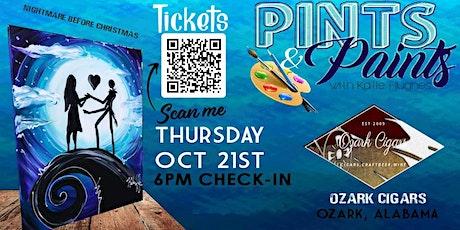 Pints & Paints at Ozark Cigars tickets
