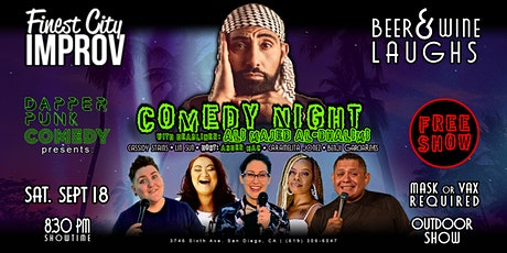 Stand Up Comedy Show with Headliner Ali Majed Al-Dhalimi tickets