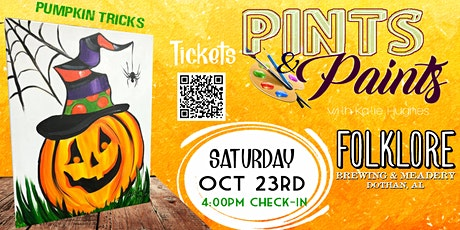 Pints & Paints at Folklore Brewing tickets