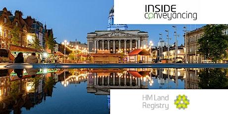 HM Land Registry & Inside Conveyancing Seminar Nottingham tickets
