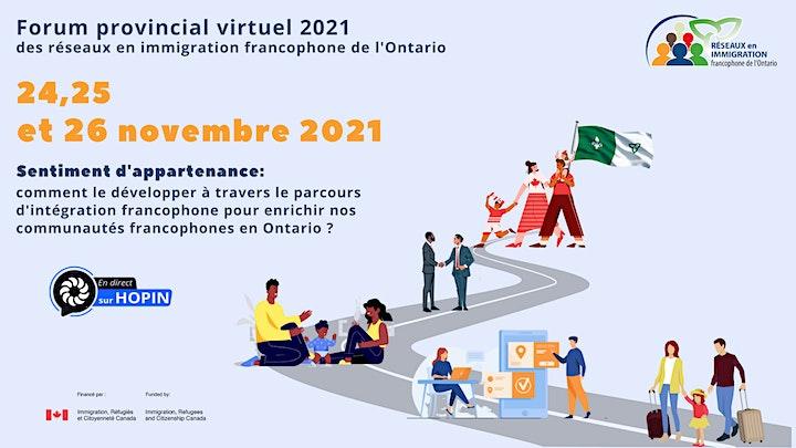 Image de Forum provincial des réseaux en immigration francophone de l'Ontario