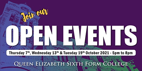 QE Open Events - October 2021 tickets