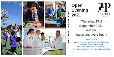 Priory School - Annual Yr 6 Open Evening tickets