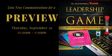 The Leadership Roundtable Preview Tickets