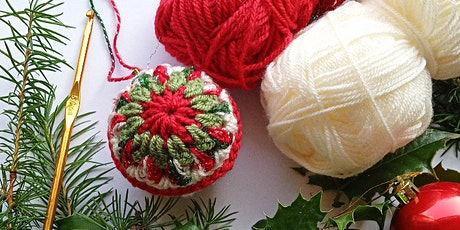 Crochet at Christmas - Granny Square Baubles and Brunch tickets