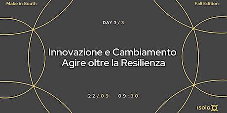 Innovazione e Cambiamento - Agire oltre la Resilienza biglietti