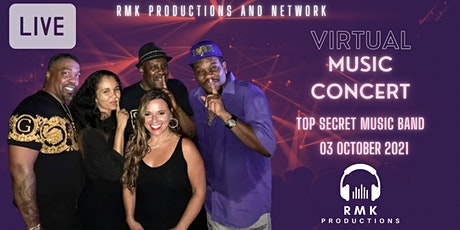 RMK Productions Music Series featuring Top Secret (Live Music Concert) tickets
