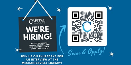Capital Vacations is Hiring - Open Interview Event! tickets
