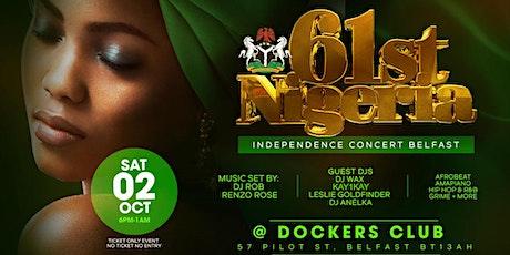 Nigerian independence concert Belfast tickets