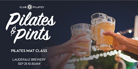 Club Pilates South Ft. Lauderdale with LauderALE Brewery- Pilates & Pints tickets