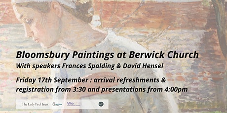 Bloomsbury Paintings at Berwick Church,  Friday 17th September tickets
