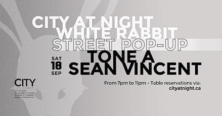 Street Pop-Up: Tone A, Sean Vincent tickets