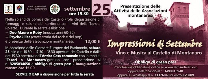 Impressioni di Settembre: vino e musica image