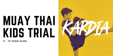 Muay Thai Kids 11-15 years old Trial Class Tickets