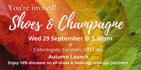 Shoes & Champagne tickets