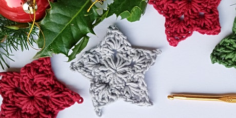 Crochet at Christmas - Festive Stars and Brunch tickets