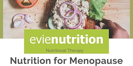 Nutrition for a Better Menopause tickets