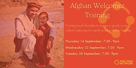 Afghan Welcomer Training entradas