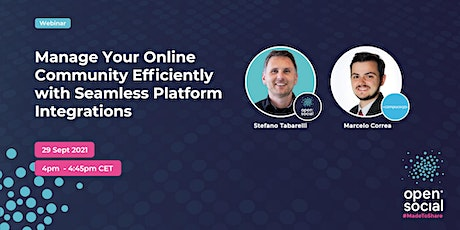 Manage Your Online Community Efficiently with Seamless Platform Integration tickets