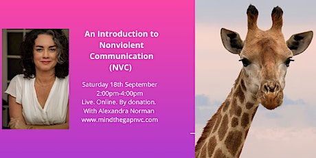 NVC Intro Workshop. Live. Online. By donation. tickets