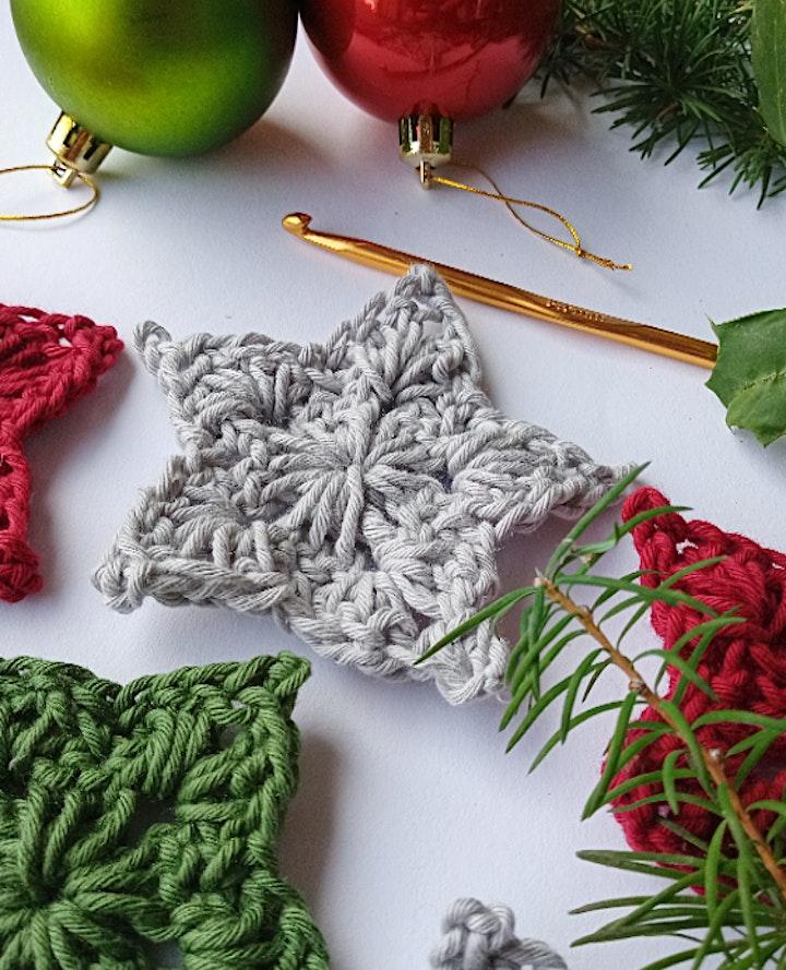 Crochet at Christmas - Festive Stars and Brunch image