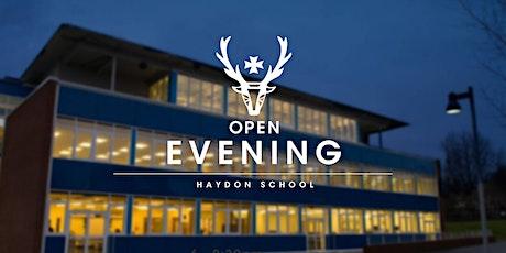 Year 6 Open Evening - Headteacher's speech tickets