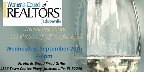 WCR Jacksonville  - Networking Social and Election of Officers tickets