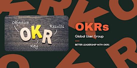 OKRs Global User Group Virtual Meetup tickets