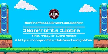 Monthly #NonProfit Virtual JobExpo / Career Fair #Dallas tickets