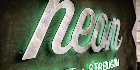 NEON CYCLE + STRENGTH POP UP SCULPT PILATES CLASS tickets