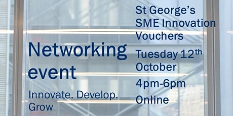 SGUL: SME Innovation Voucher Networking tickets