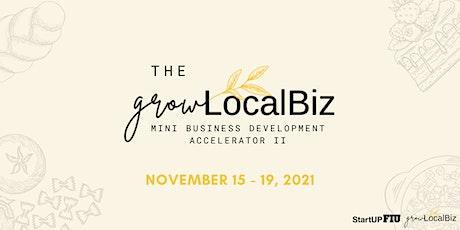 Grow LocalBiz Mini Business Development Accelerator II tickets