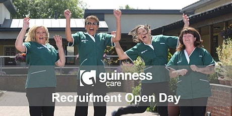 Guinness Care Recruitment Open Day - Work with us! tickets