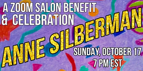 A Zoom Salon Benefit & Celebration for Anne Silberman tickets