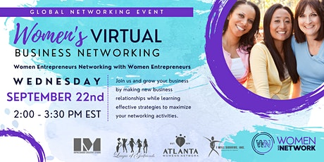 Virtual: Women's Business Networking Event tickets