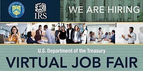 U.S. Department of Treasury Virtual Job Fair tickets