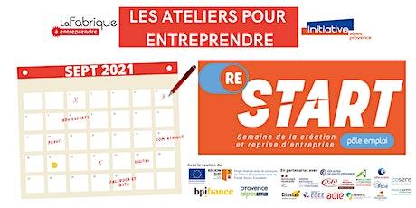 Re-Start  - Atelier : Je pitch mon projet ! billets